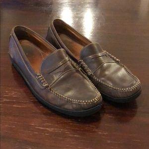 Men's Dark Brown Cole Haan Loafer Boat Shoe